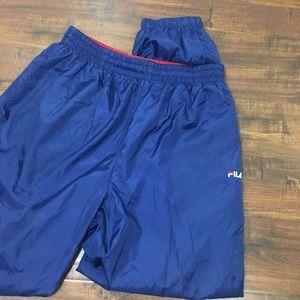 FILA Vintage Windbreaker Jogger Track Pants